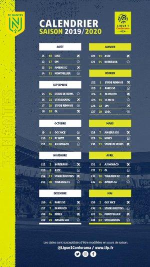 ~ Saison 2019 / 2020 : Nouveaux maillots, Calendrier et Mercato ~