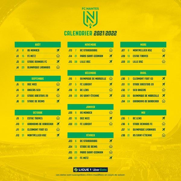 Mercato Eté 2021 + Calendrier saison 2021 - 2022