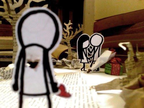Tu as raison, ignore moi, avance sans moi, après tout, tu m'as juste dit «je t'aime plus que tout»...