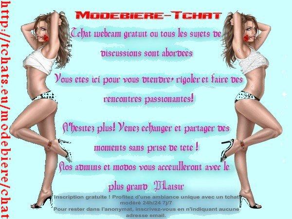 Blog de modebiere tchat modebiere for Salon tchat