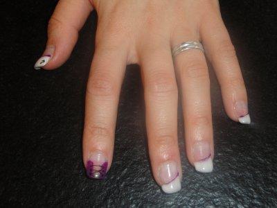 Pose sur ongles naturels