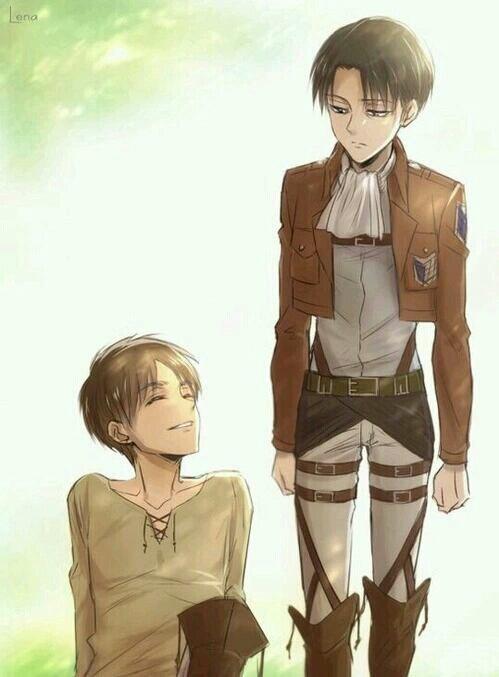 Je sais ca fait longtemps que j'ais pas publier quelque chose mais je suis tres occuper c'est dernier temps :) petite question pour vous : Qui préfère vous entre Livaï et Eren ? Dans Shingeki no kyojin