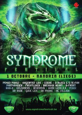 NEXT EVENTS: SUNSET FESTIVAL & SYNDROME FESTIVAL 2011!!