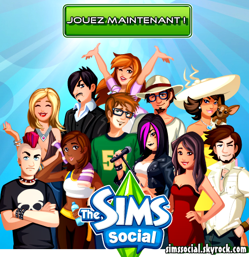 The Sims Social - Presentation Officiel