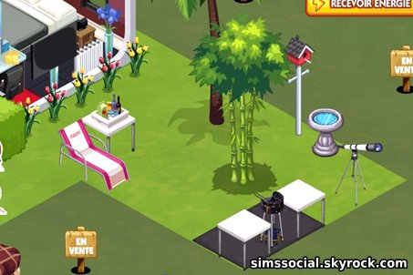 Agrandir son Terrain/Maison Sims Social