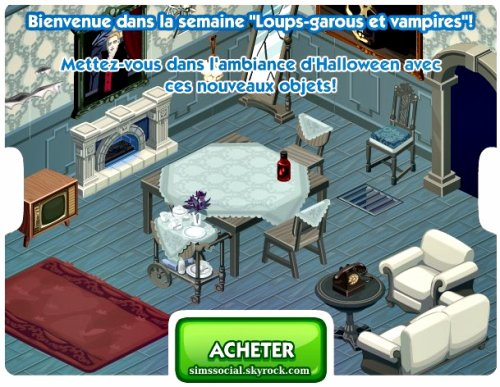 Sims Halloween !