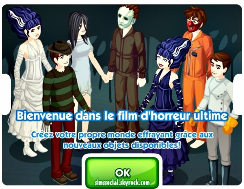 Mission Sims Social Halloween !
