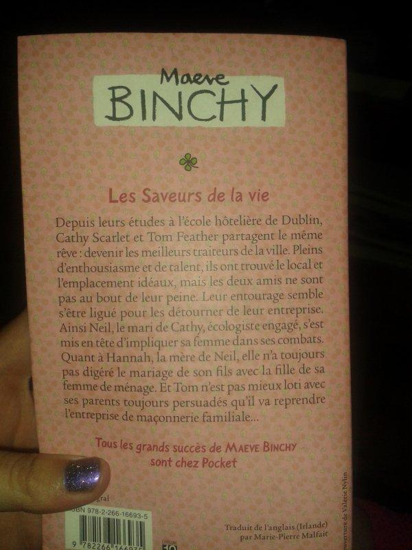 """"""" Les saveurs de la vie """" Maeve Binchy   7/10"""