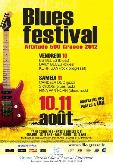 FESTIVAL DU BLUES 2012