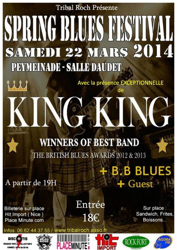 SPRING BLUES FESTIVAL LE 22 MARS 2014