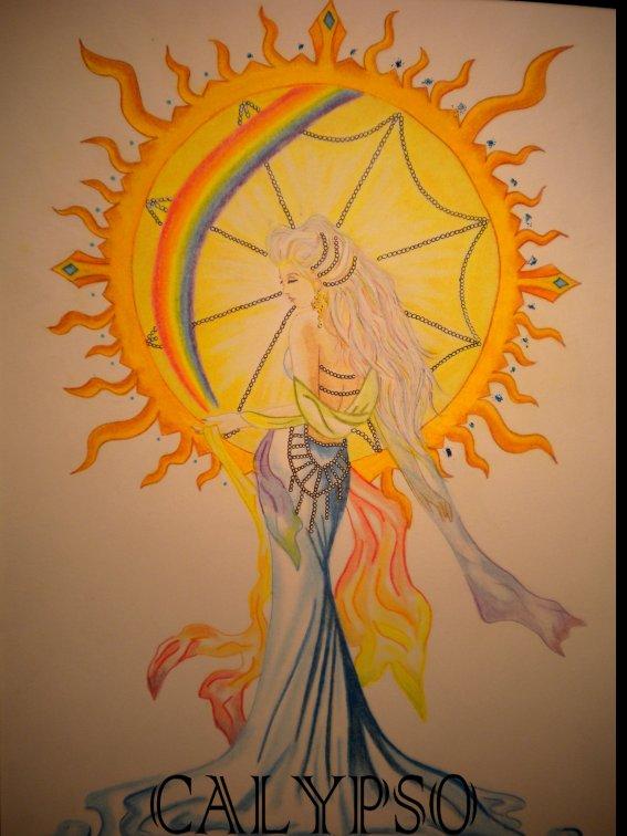 Déesse grecque de l'arc-en-ciel : Iris
