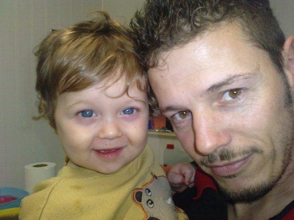 moi et le bebe yan