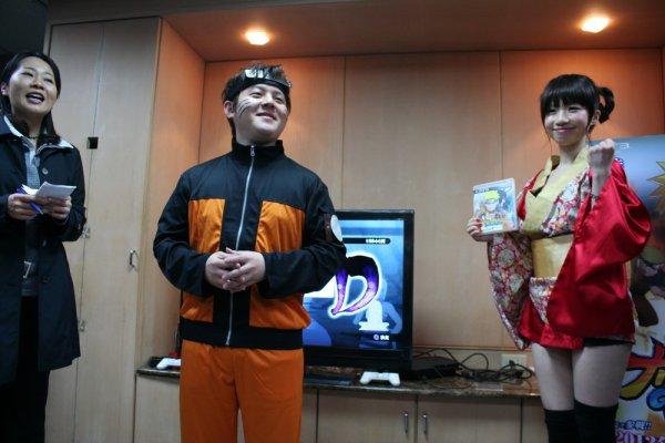Naruto Generations  from Taipei International Exhibition