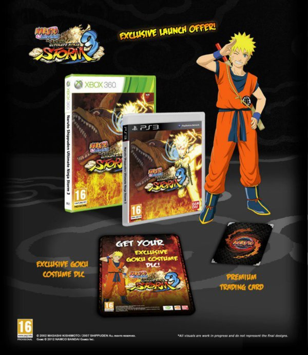 Naruto Shippuden  Ultimate Ninja Storm 3  deux versions Collector pour  l'Europe