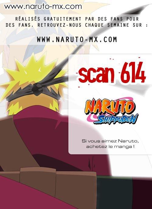 scan  Naruto 614   sortez vos mouchoirs :(