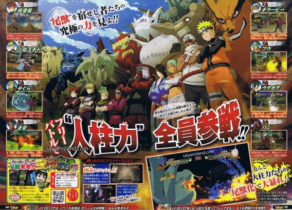 Naruto Storm 3 Scan   Jinchuriki Action, Kakuzu Boss Battle