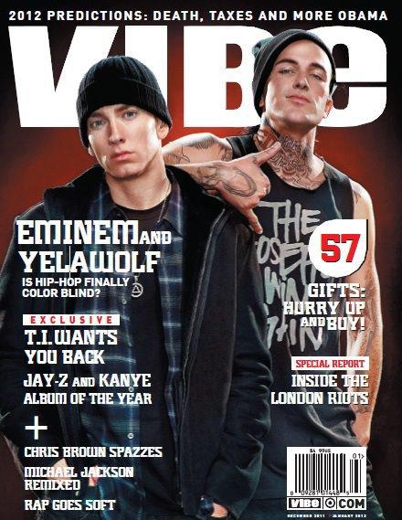 Eminem & Yelawolf En Couverture Du Magazine Vibe Edition De Décembre 2011