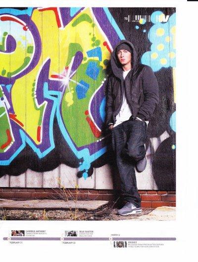 Photo Du Vibe Magzine (Eminem & Yelawolf)