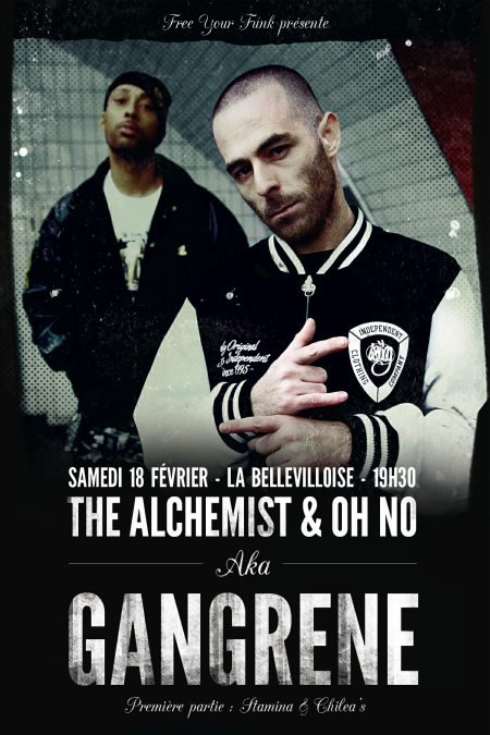 The Alchemist & Oh No En Concert A Paris