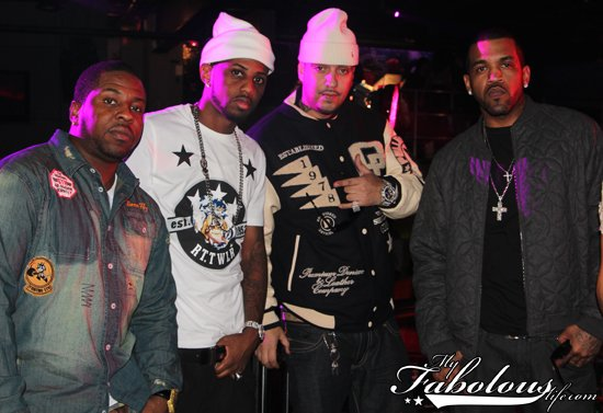 Fabolous, French Montana, Lloyd Banks & Juelz Santana (VIDEO SHOOT)