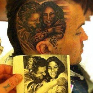 Yelawolf A Un Nouveau Tatouage