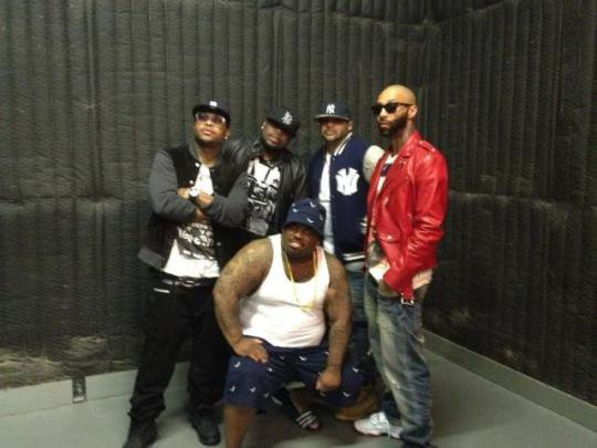 Slaughterhouse & Cee Lo Green (PHOTO)
