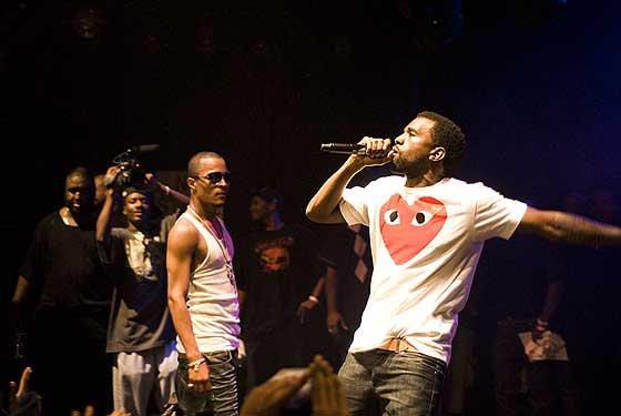 T.I. - Kanye West En Guest Sur L'Album !