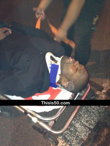50 Cent Blessé !