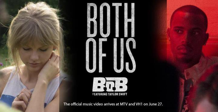 B.o.B - Both Of Us (Feat. Taylor Swift) (CLIP)
