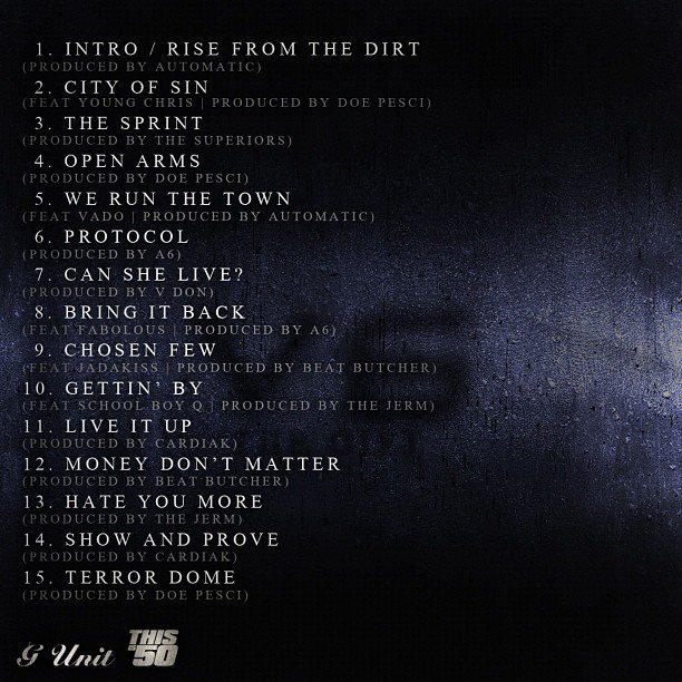 Lloyd Banks - V6 : The Gift (TRACKLIST)