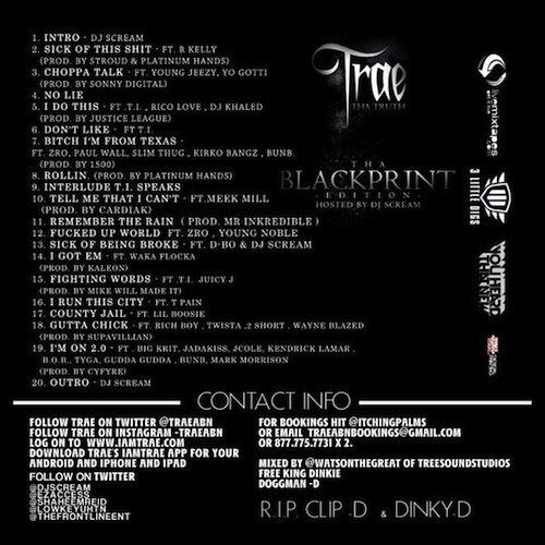T.I. Pose Sur 3 Son Sur La Prochaine Mixtape De Trae Tha Truth