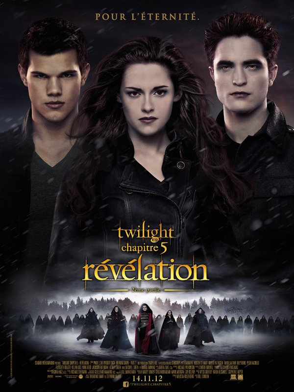 Poster français de Breaking Dawn part 2