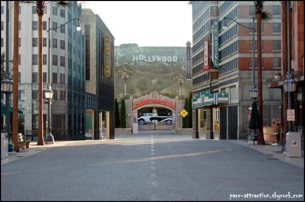 Hollywood Studio : Studio Tram Tour
