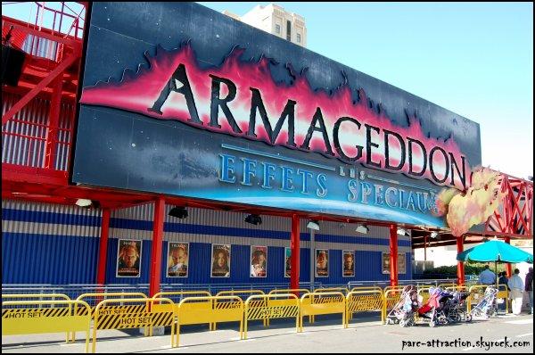 Backlot : Armageddon & Moteur, Action !
