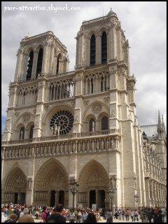 Hors classement : Notre-Dame de Paris (environ 13 millions)