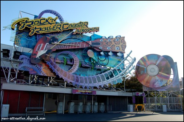 Backlot : Rock'n'Roller Coaster