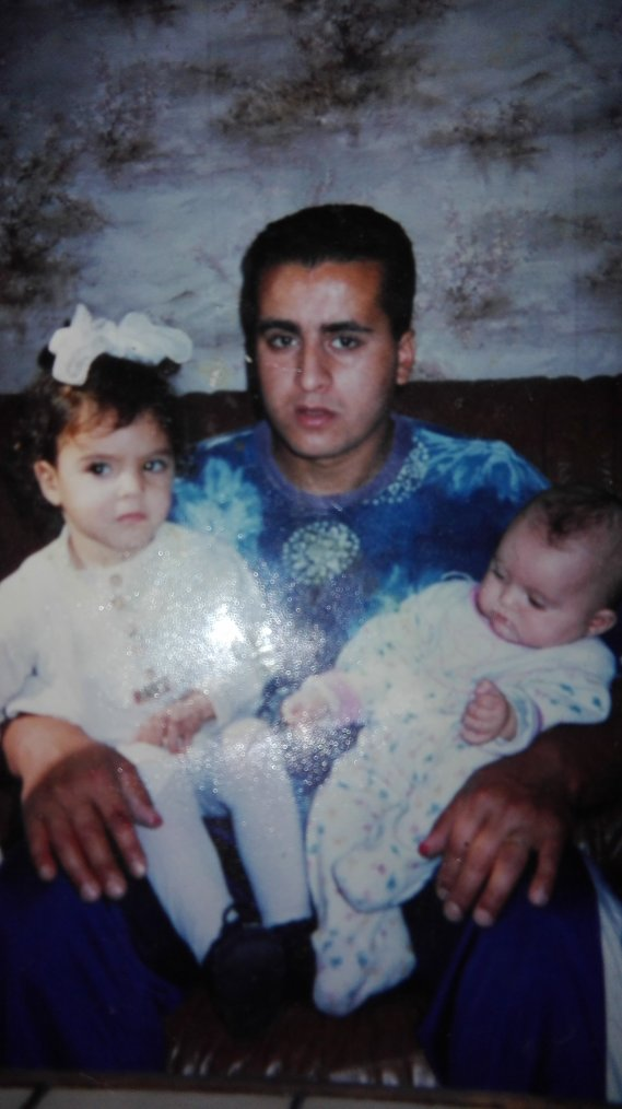 Moi mon papa et ma petite s½ur