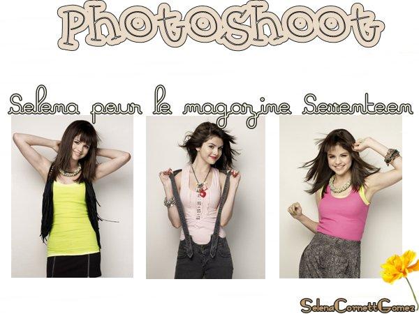 . Decouvrez ou re-decouvre un shoot magnifique de Selena .