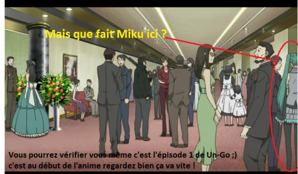Miku Hatsune dans un anime ?!?!?!