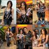 .  Lucy s'est rendue hier, le 6 Juillet, au lancement de la marque de Havaianas Mercado .