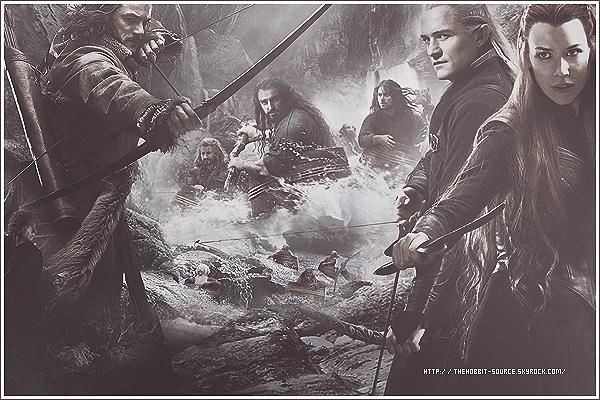 """▬  Découvre ta source officiel sur la trilogie """"The Hobbit"""" ."""