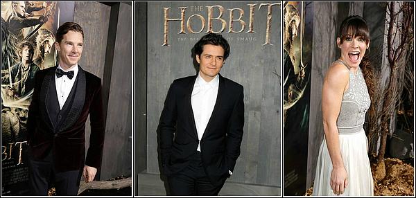 The Hobbit : Première en Europe ,Los Angles et pleins d'autres !