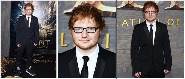 Ed Sheeran voit le feu dans The Hobbit : The Désolation of Smaug .