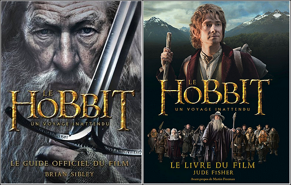 Découvrez les guides officiels des films Le Hobbit : Un voyage inattendu et La Désolation de Smaug .