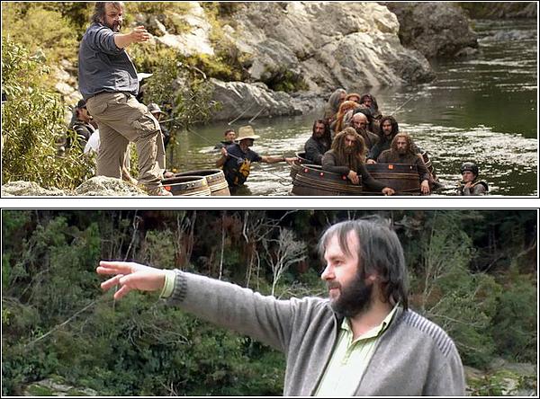 Vivez le tournage de The Hobbit : The Désolation of smaug ,avec Peter Jackson et nos petits-nains .