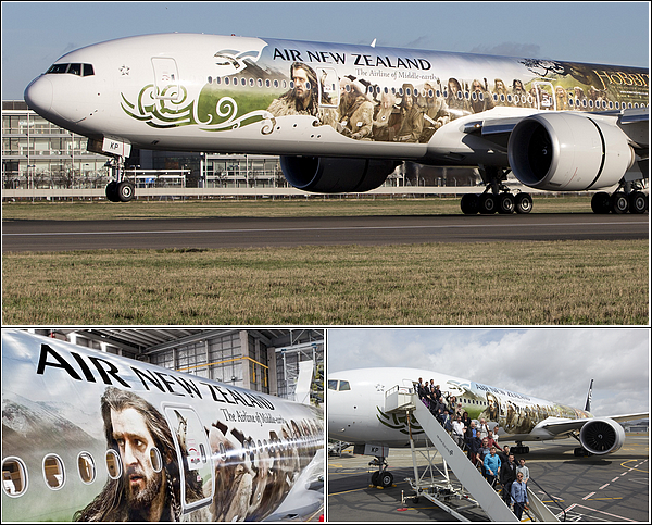 """The Hobbit"" vous accueille à bord du Air New-Zealand (The Hobbit: An Unexpected Journey)"