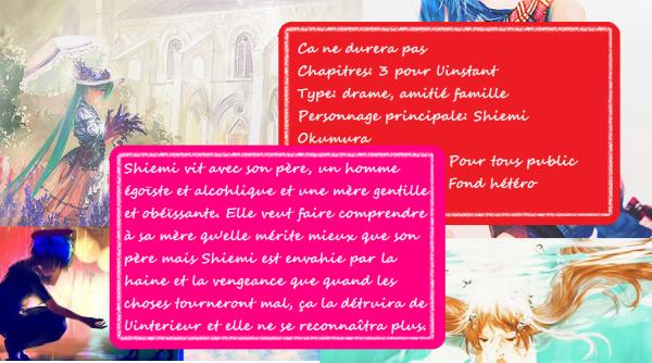 Fiction n°1 Chapitre 1