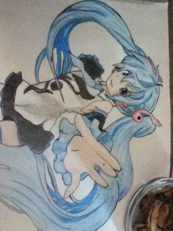 Dessin de Hatsune Miku