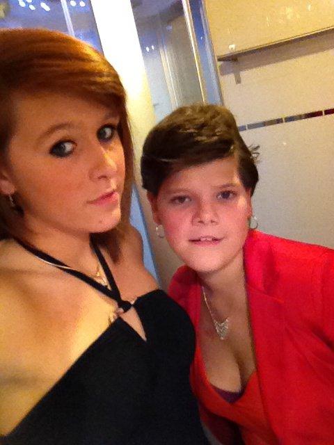 Morgane et moi!!