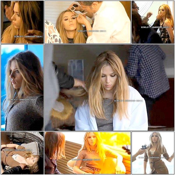 *******   6.09.2010 - Préparation aux photoshoot  Scarlett for Mango (automne 2010)*******